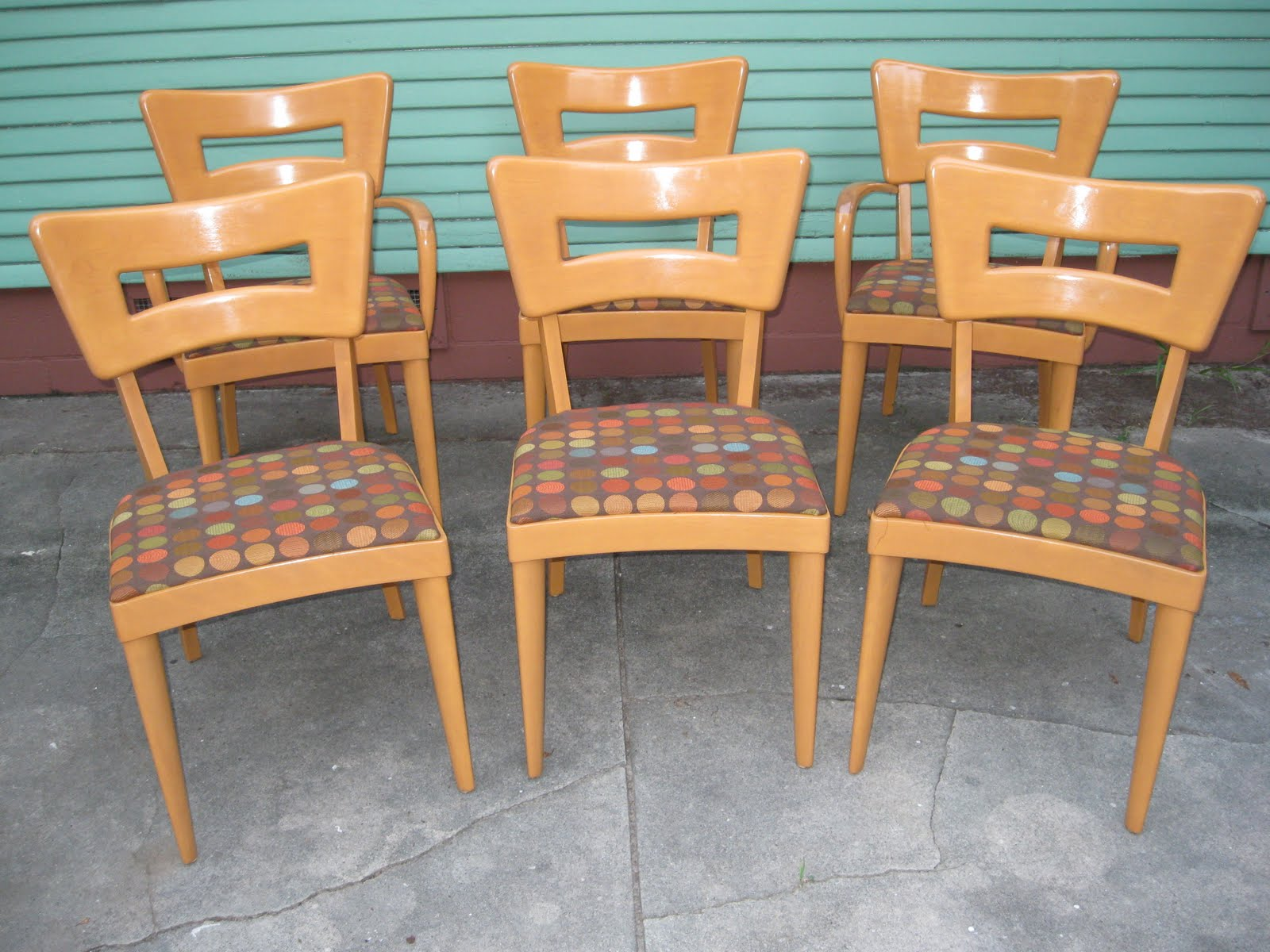 heywood wakefield dogbone chairs memory foam desk chair a modern line refinishing and other mid century one of our clients table here in central tampa classic wishbone they purchased abused but at least not desicrated like